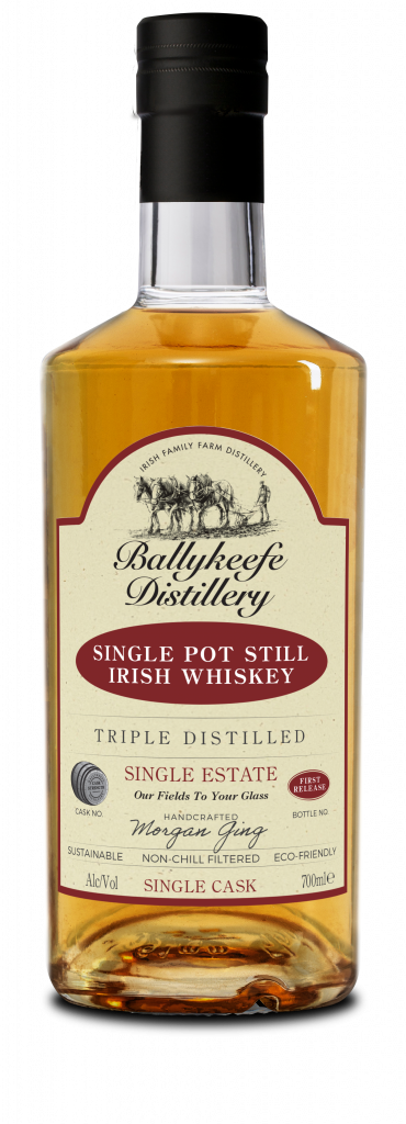 Ballykeefe First Release Cask Strength Single Pot Still Irish Whiskey