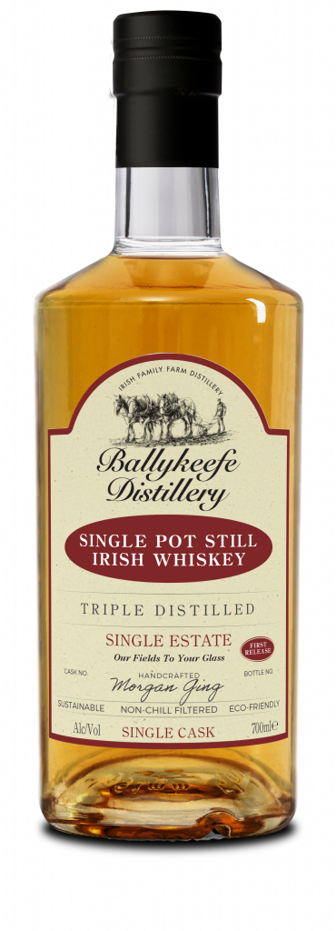 Ballykeefe First Release Single Pot Still Irish Whiskey 46 ABV
