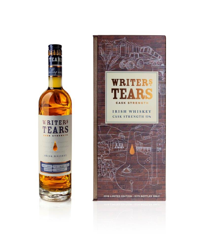 Writers Tears 2018 Cask Strength Irish Whiskey Trail