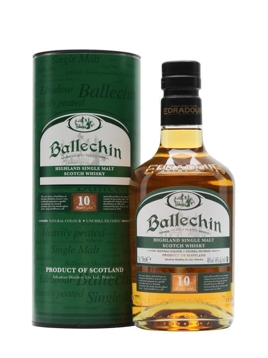 Ballechin 10 Year Old / Heavily Peated Highland Whisky