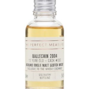 Ballechin 2004 Sample / 12 Year Old / TWE Exclusive Highland Whisky