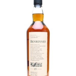 Benrinnes 15 Year Old Speyside Single Malt Scotch Whisky