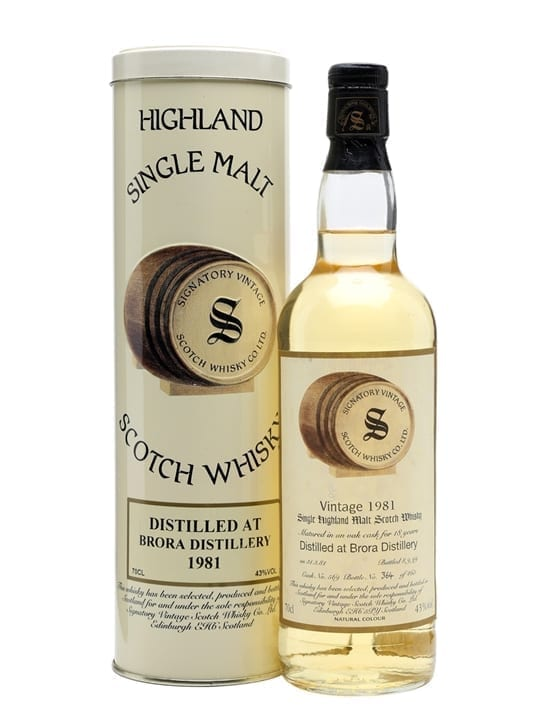 Brora 1981 / 18 Year Old / Sherry Cask Highland Whisky
