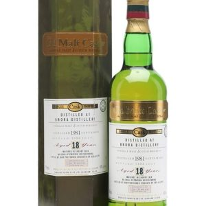 Brora 1981 / 18 Year Old / Sherry Cask / Old Malt Cask Highland Whisky