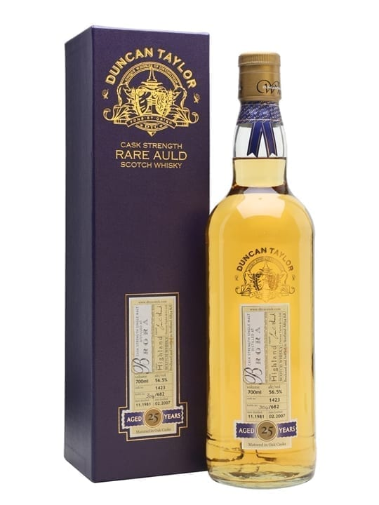 Brora 1981 / 25 Year Old / Duncan Taylor Highland Whisky