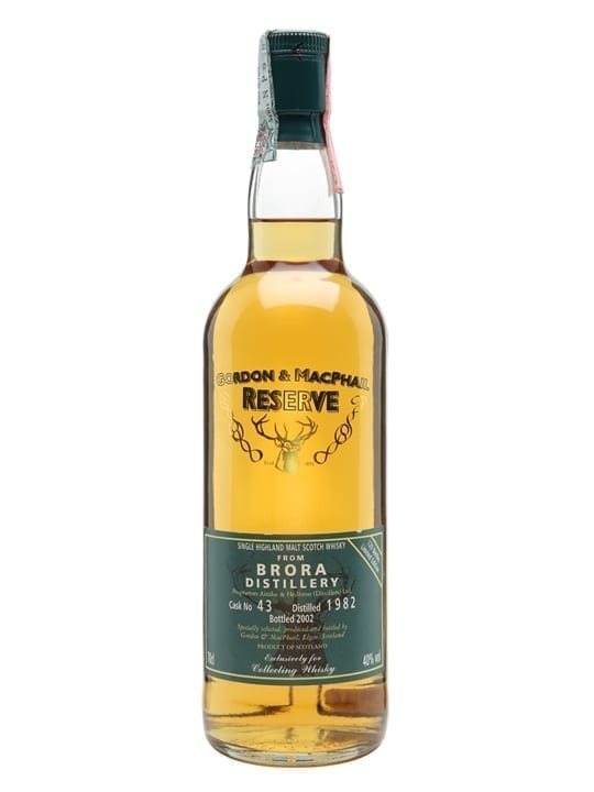 Brora 1982 / Bot.2002 / G&M Reserve Highland Single Malt Scotch Whisky