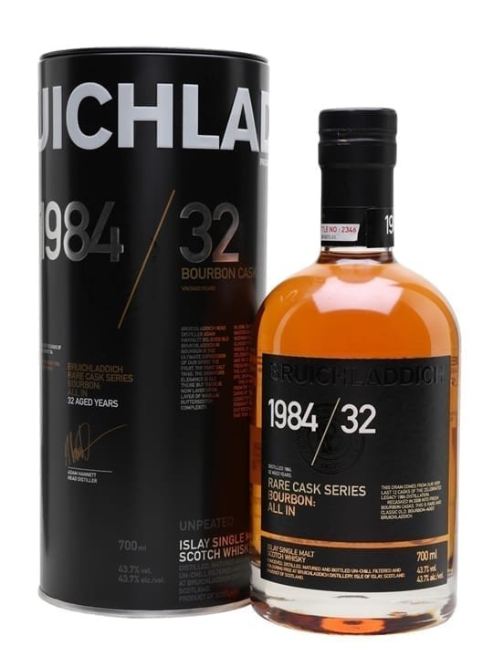 Bruichladdich 1984 / All In / 32 Year Old / Rare Cask Series Islay Whisky