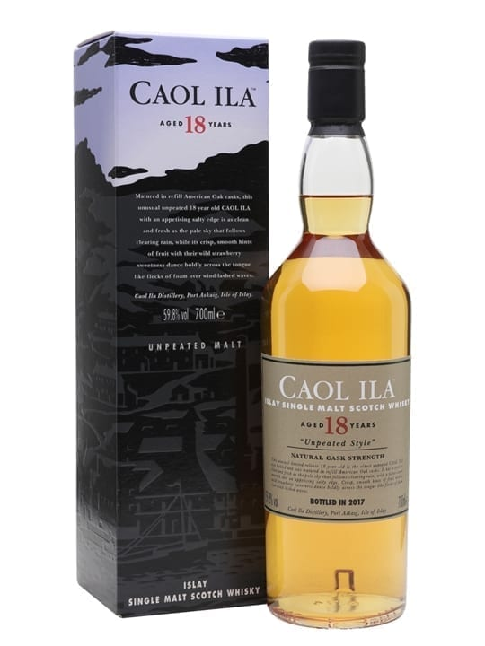 Caol Ila 18 Year Old / Special Releases 2017 Islay Whisky