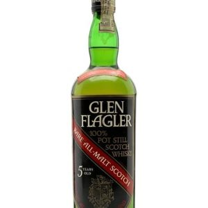 Glen Flagler 5 Year Old / Bot.1970s Lowland Single Malt Scotch Whisky