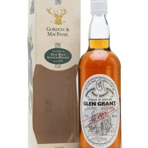 Glen Grant 1952 / Gordon & MacPhail Speyside Single Malt Scotch Whisky
