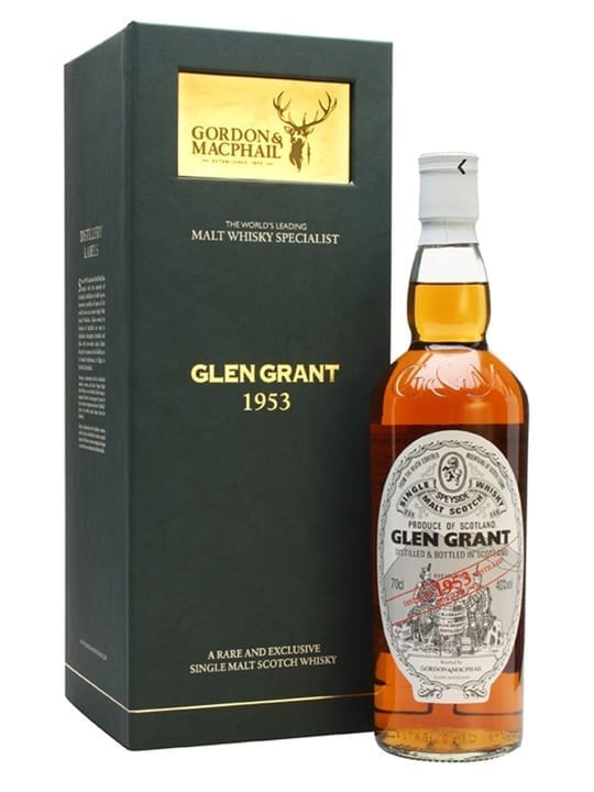 Glen Grant 1953 / Bot.2013 / G&M Speyside Single Malt Scotch Whisky