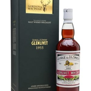 Glenlivet 1955 / Bot.2012 / G&M Speyside Single Malt Scotch Whisky