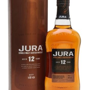 Jura 12 Year Old Island Single Malt Scotch Whisky