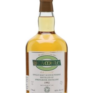 Springbank 1992 / Da Mhile Campbeltown Single Malt Scotch Whisky