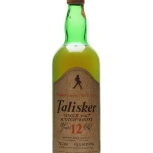 Talisker 12 Year Old / Bot.1980s Island Single Malt Scotch Whisky