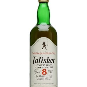 Talisker 8 Year Old / Bot.1980s Island Single Malt Scotch Whisky