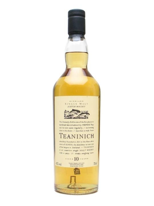 Teaninich 10 Year Old Highland Single Malt Scotch Whisky