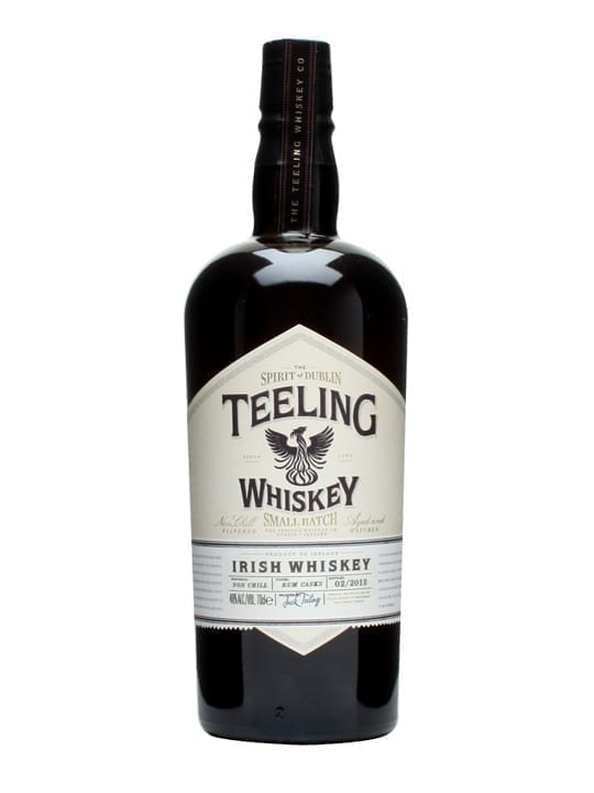 Teeling Small Batch Whiskey Irish blended whisky