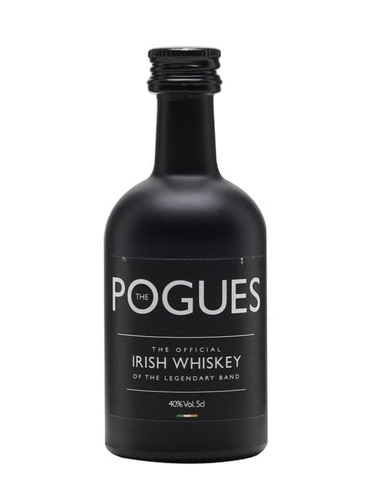 The Pogues Irish Whiskey Miniature Blended Irish Whiskey