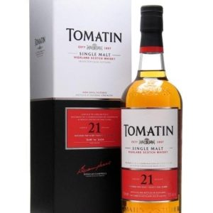 Tomatin 21 Year Old Highland Single Malt Scotch Whisky