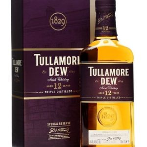 Tullamore Dew 12 Year Old / Special Reserve Irish Blended Whiskey