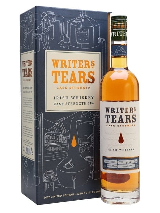 Författare Tears Cask Strength / Bot.2017 Blended Irish Whiskey