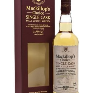 Dalmore 1991 / Bot.2009 / MacKillop's Choice Highland Whisky