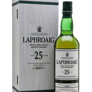 Laphroaig 25 Year Old / Cask Strength / Bot.2017 Islay Whisky