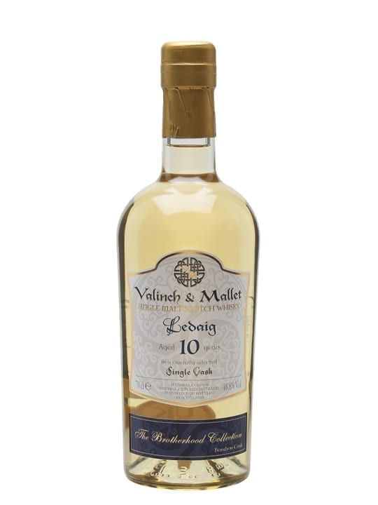 Ledaig 10 Year Old / Valinch & Mallet Island Whisky