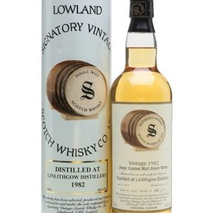 Linlithgow 1982 / 18 Year Old / Signatory Lowland Whisky