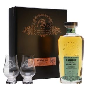 Mosstowie 1973 / 45 Year Old / Signatory 30th Anniversary Speyside Whisky
