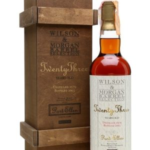 Port Ellen 1979 / 23 Year Old / Sherry Cask/ Wilson & Morgan Islay Whisky