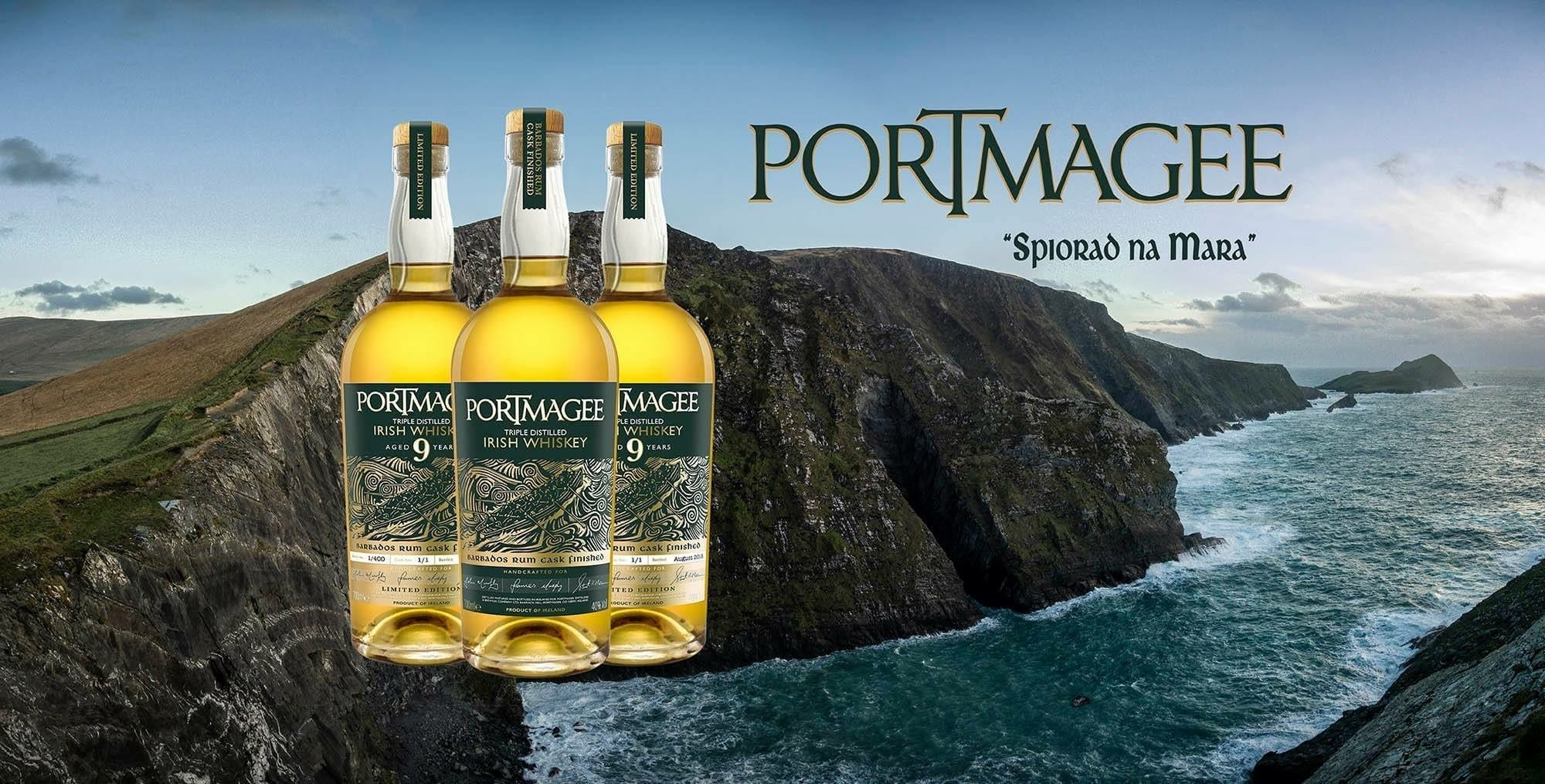 Portmagee 9 Unyaka Old Irish Whiskey Isibuyekezo uStuart McNamara Irish Whiskey-Blogger