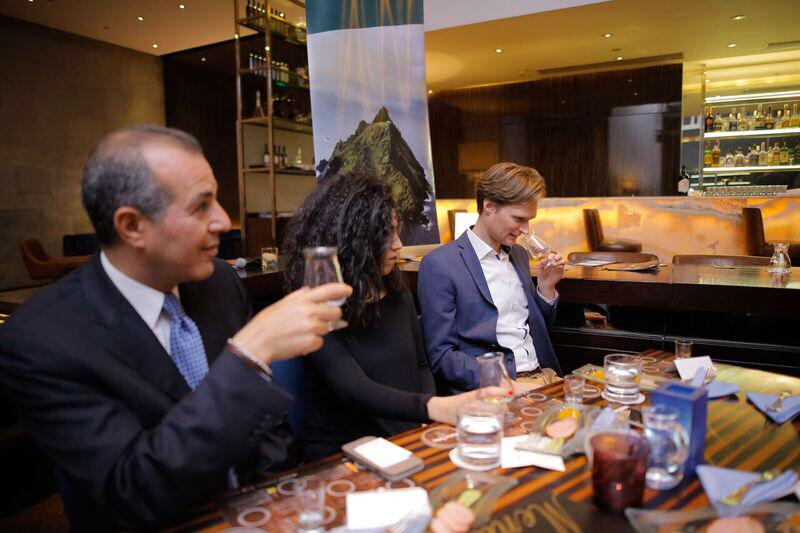 Irish Whiskey Tasting in the Conrad Cairo Hotel by Irish Whiskey Blogger Stuart McNamara