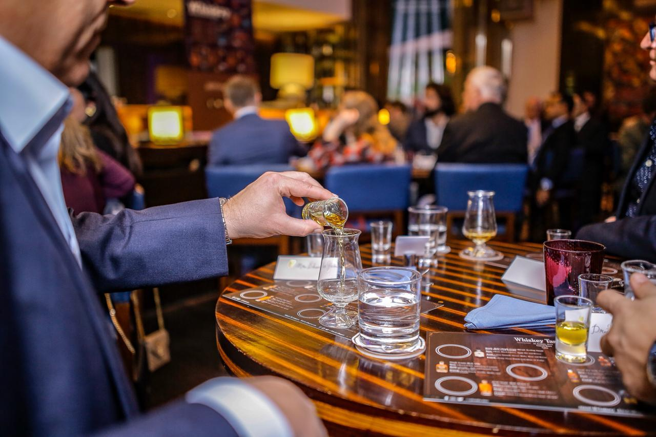 Conrad Cairo Hotel Whiskey Tasting by Irish Whiskey Blogger Stuart McNamara