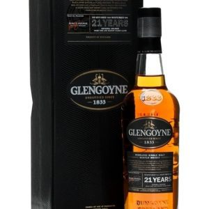 Glengoyne 21 Year Old / Sherry Matured / Small Bottle Highland Whisky