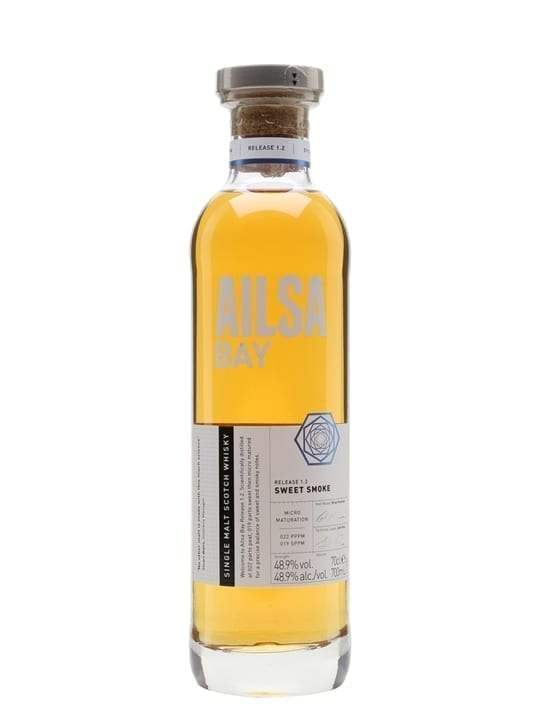 Ailsa Bay Sweet Smoke Lowland Single Malt Scotch Whisky