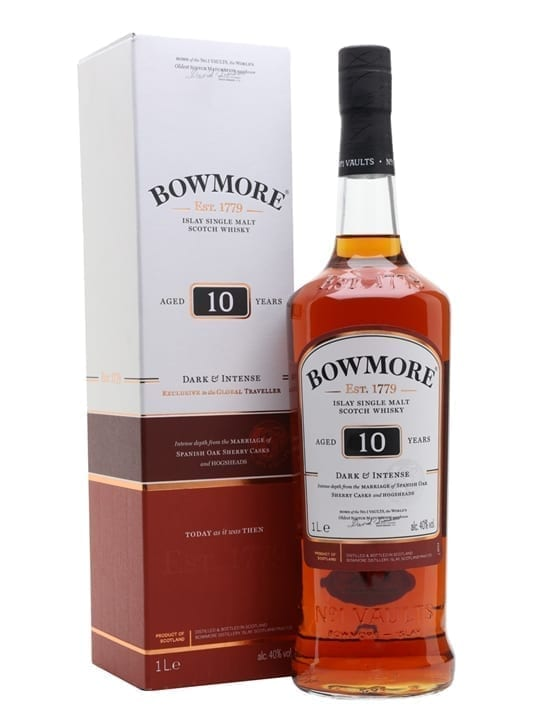Bowmore 10 Year Old / Litre Islay Single Malt Scotch Whisky