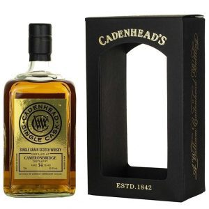 Cameronbridge 34 Year Old 1984 Cadenhead's Single Cask