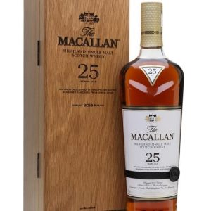 Macallan 25 Year Old / Sherry Oak / 2018 Release Speyside Whisky