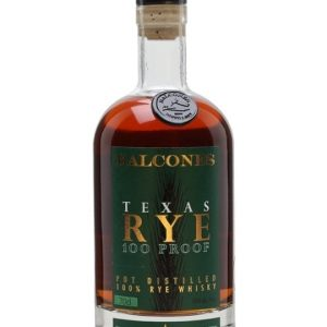 Balcones Texas Rye Texan Rye Bourbon Whiskey