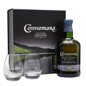 Connemara Distillers Edition Peated / Gift Pack