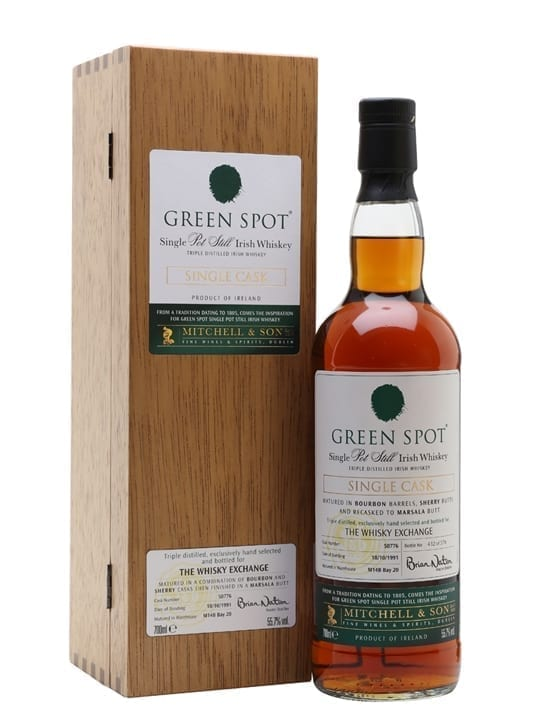 Green Spot 1991 / 26 Year Old / Marsala Cask / TWE Exclusive