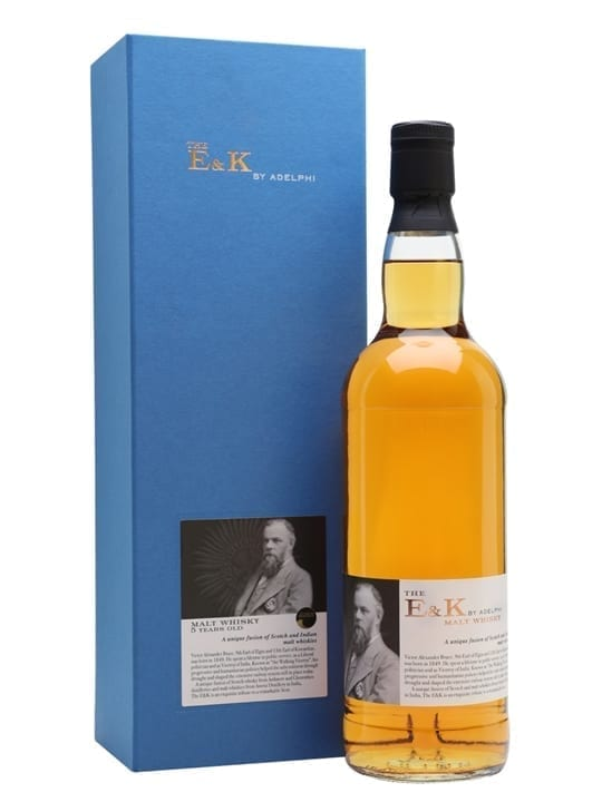 The E&K 5 Year Old Malt Whisky / Indian & Scotch Fusion Blended Whisky