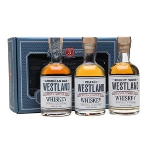 Westland Gift Set / 3x20cl American Single Malt Whiskey
