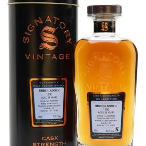 Bruichladdich 1990 / 28 Year Old / Signatory Islay Whisky
