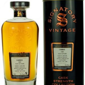 Cambus 26 Year Old 1991 Signatory Cask Strength