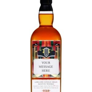Personalised 25 Year Old Scotch Whisky Lowland Whisky