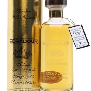 Edradour 2008 / 10 Year Old / Bourbon Cask Highland Whisky