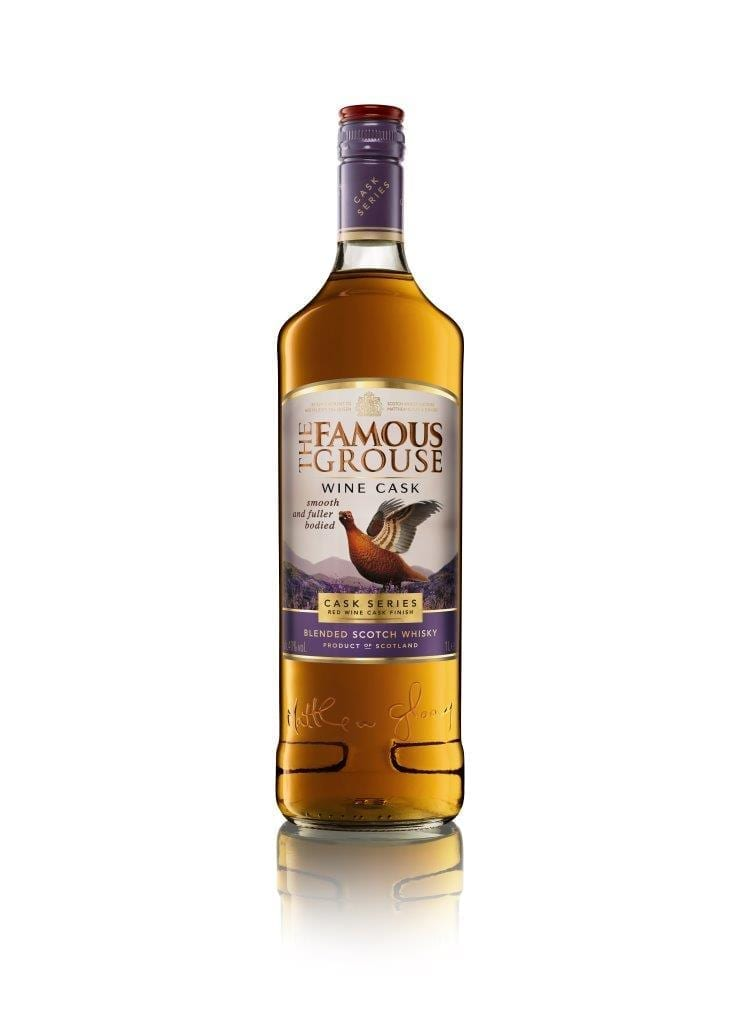 Famous Grouse Wine Cask Blended Whisky Stuart McNamara Whiskey Blogger